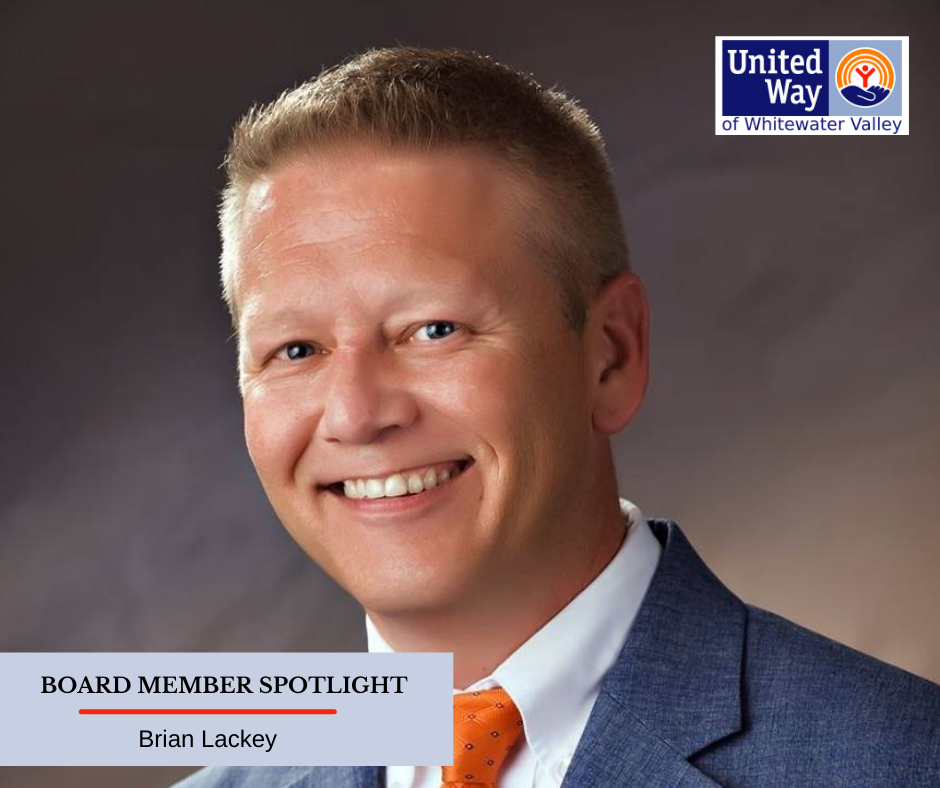 Brian Lackey United Way of Whitewater Valley Board Member